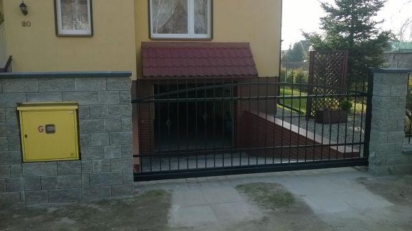 Brama wjazdowa I